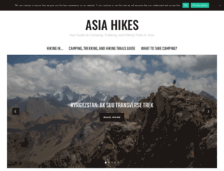 asia-hikes.com screenshot