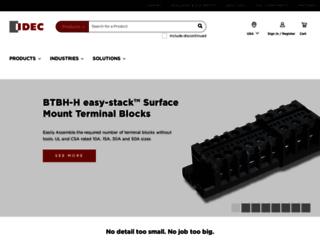 asia.idec.com screenshot