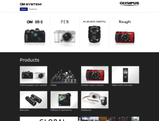 asia.olympus-imaging.com screenshot