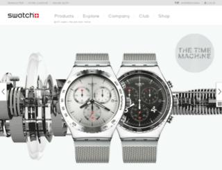 asia.swatch.com screenshot