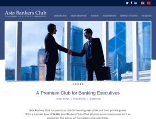 asiabankersclub2.com screenshot