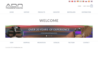 asiabrasives.com screenshot