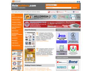 asiabuilders.com screenshot
