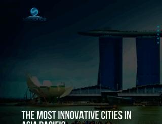 asiainnovativecities.com screenshot