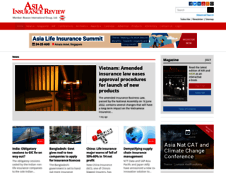 asiainsurancereview.com screenshot