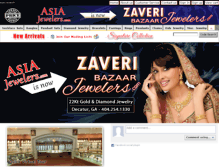 asiajewelers.com screenshot
