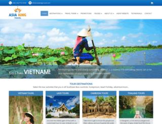 asiakingtravel.com screenshot