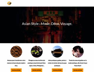 asian-style.fr screenshot