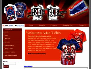 asian-t-shirts.com screenshot