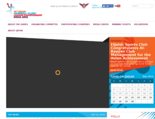 asian15handball.com screenshot