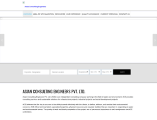 asianconsulting.org screenshot