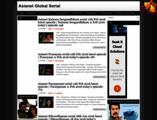 asianet-global-serial.blogspot.com screenshot