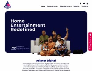 asianetdigital.co.in screenshot