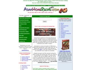 asianhomerecipe.com screenshot