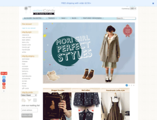 asianicandy.com screenshot