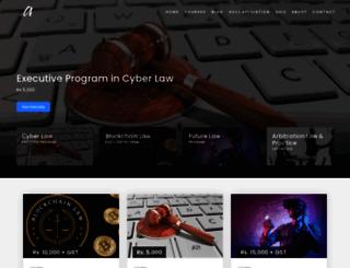 asianlaws.org screenshot