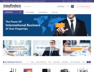 asianproducts.com screenshot