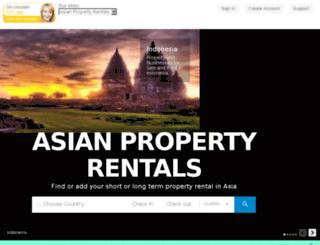 asianpropertyrentals.com screenshot