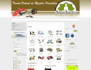 asianshop.cr screenshot
