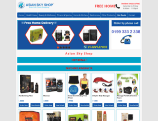 asianskyshoplimited.com screenshot
