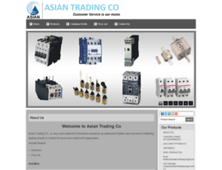 asiantradingcopune.com screenshot