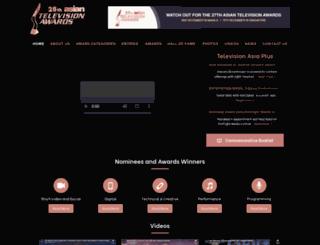 asiantvawards.com screenshot