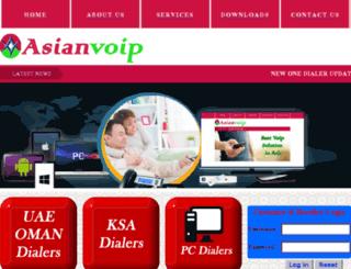 asianvoip.net screenshot