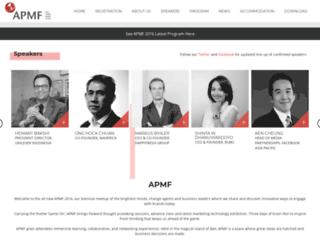 asiapacificmediaforum.com screenshot