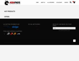 asiapads.com screenshot