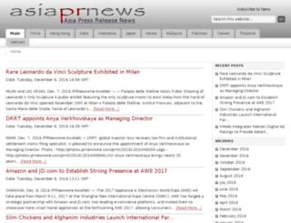 asiaprnews.com screenshot