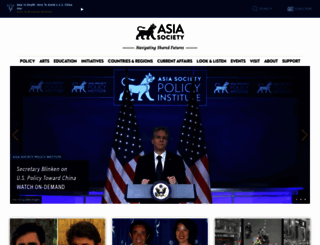 asiasociety.org screenshot