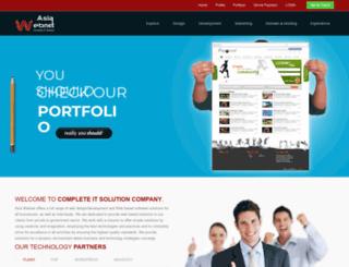 asiawebnet.com screenshot