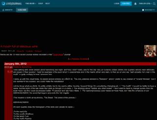 asicath.livejournal.com screenshot