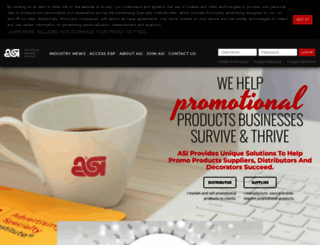 asicentral.com screenshot