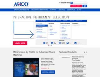 asico.com screenshot