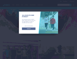 asicsamerica.com screenshot