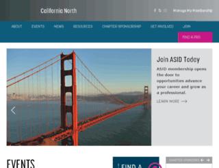 asidcalnorth.com screenshot