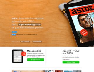 asidemag.com screenshot