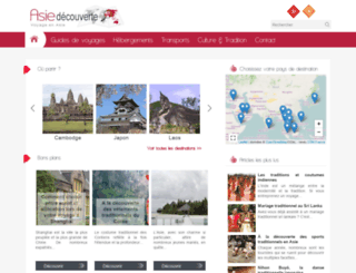 asie-decouverte.com screenshot