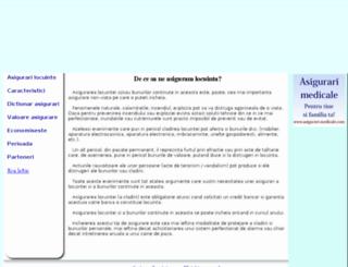 asigurarilocuinte.com screenshot