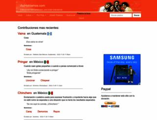 asihablamos.com screenshot