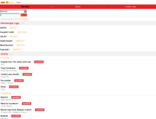 asik.indosat.com screenshot