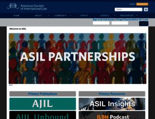 asil.org screenshot