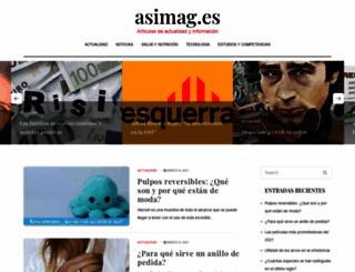 asimag.es screenshot