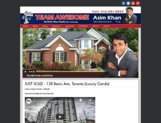 asimkhan.ca screenshot