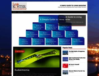 asimpleguidetolivingmagazine.com screenshot