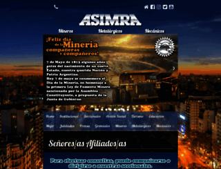 asimra.org.ar screenshot