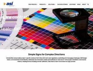asisignage.com screenshot