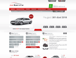 asisrentacar.com screenshot