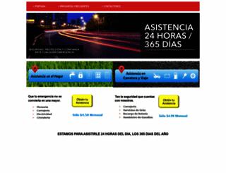 asistenciasos.com screenshot